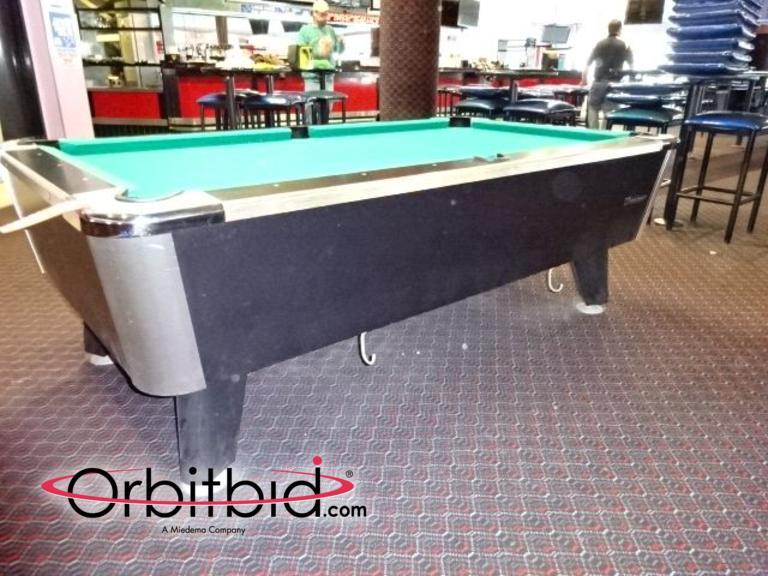 Orbitbidcom Great American Recreation Equipment Inc Pool - Great american pool table