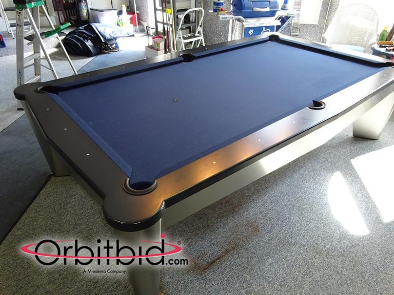(1) Full Sized, Mitchell Excalibur Custom Pool Table With Cover, Slate Top