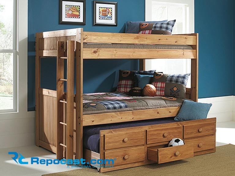 Repocast Com Trundle System 2 Full Size Bunk Beds With 1