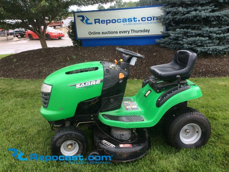 John Deere Sabre >> Repocast Com John Deere Sabre Riding Lawn Mower