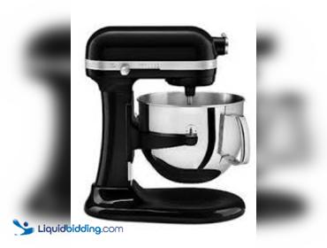Liquidbidding Kitchenaid Professional 6000 Hd Ksm6573cob Stand