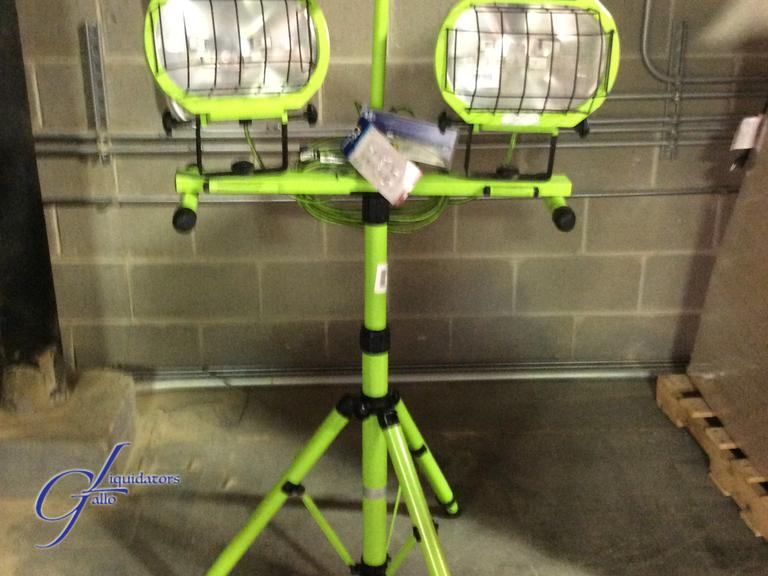 Auctions on 64 commercial electric green halogen twin tripod work auctions on 64 commercial electric green halogen twin tripod work light aloadofball Images