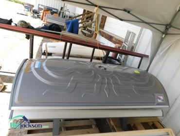 Bidjackson Com Solar Storm Grey Color 24s Tanning Bed
