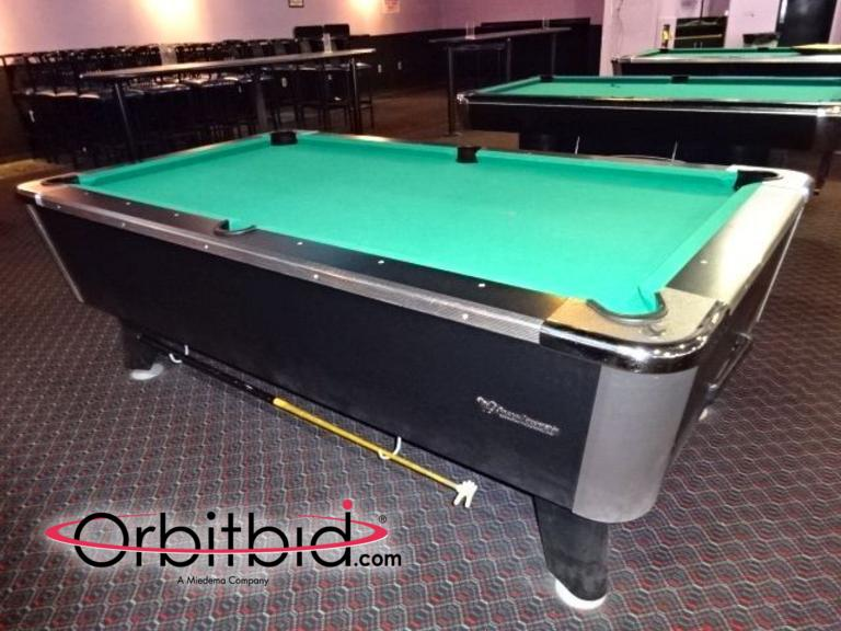 1 great american recreation equipment - Pool table green felt ...