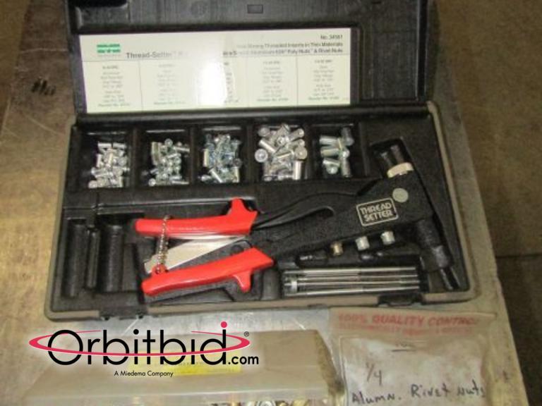 Orbitbid com® | (1) Marson Corporation #34501 thread setter
