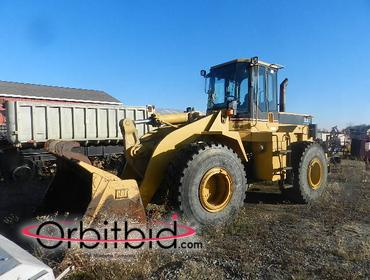 1996 CAT 950 F Series 2 Wheel Loader with EROPS 4 cubic yard bucket, 23.5R25 tires, load-rite pro...