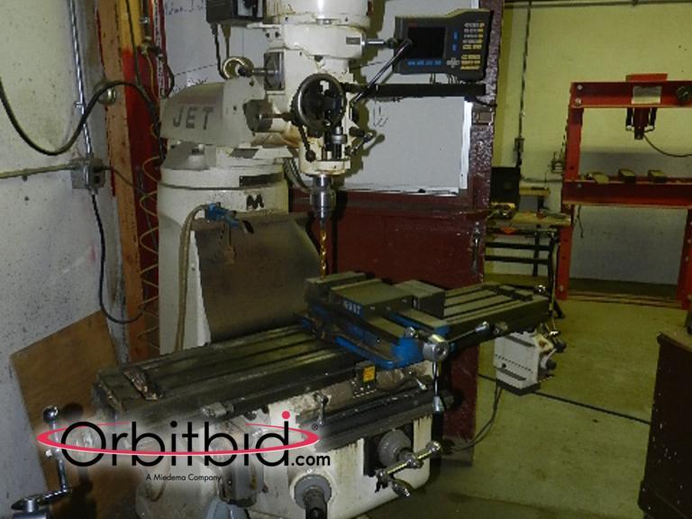 jet turret milling machine
