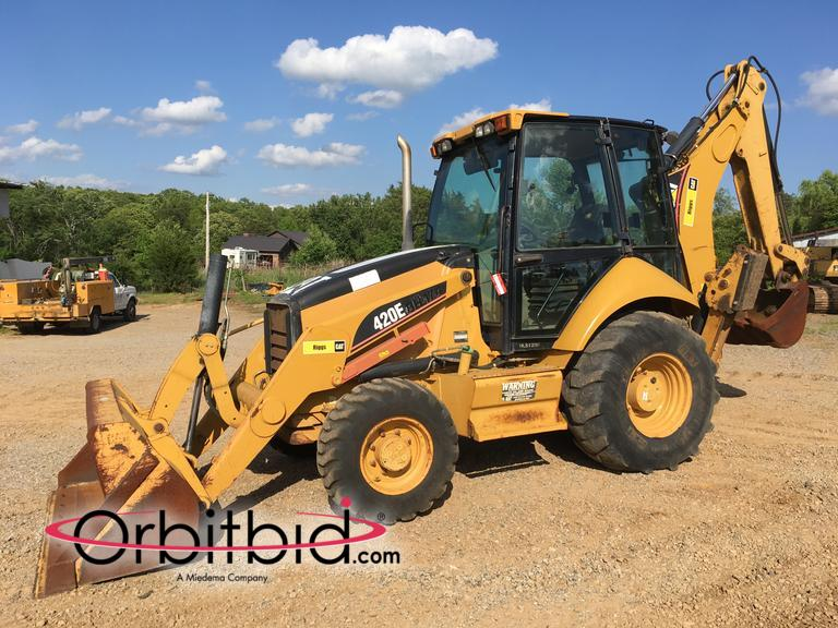 Orbitbid com® | (1) 2006 CAT 420E4T Loader Backhoe, S/N