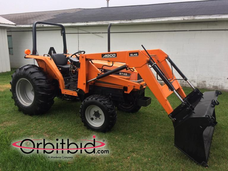 Orbitbid com® | Agco ST45 tractor