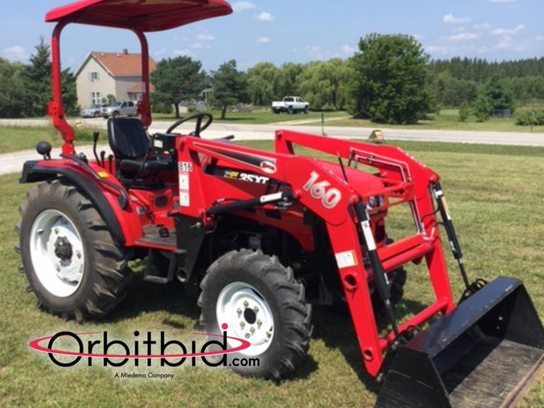 Orbitbid com® | 2012 NorTrac 35XT tractor