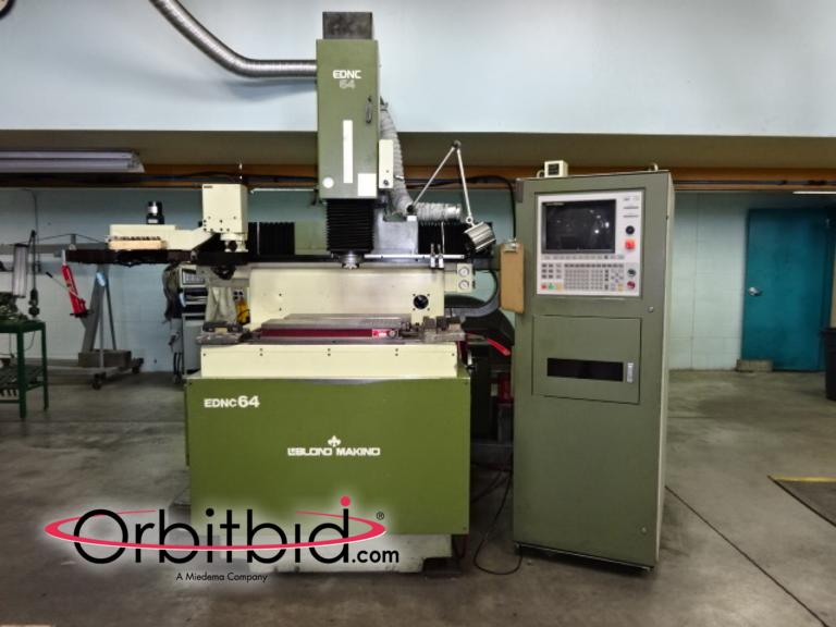 Orbitbid com® | (1) 1992 LeBlond Makino CNC RAM TYPE