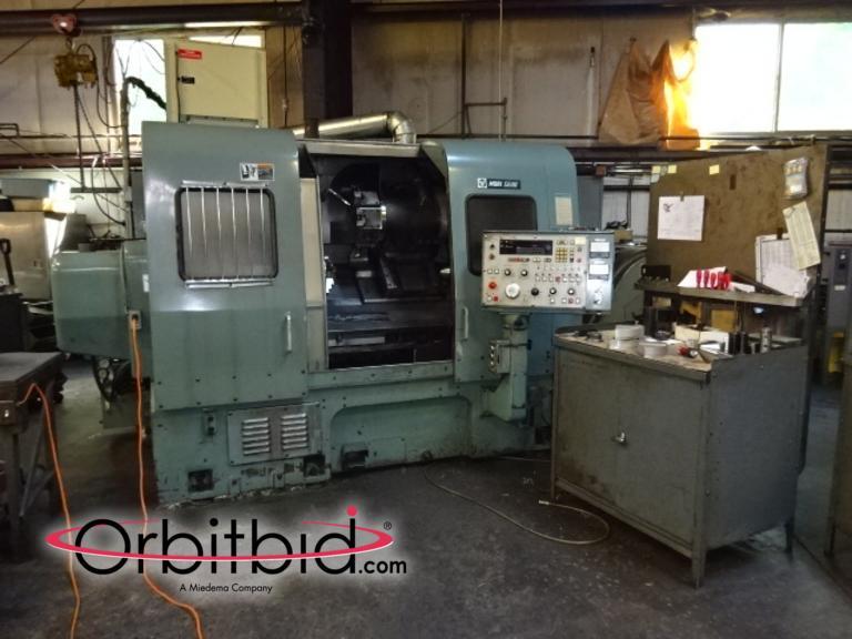 Orbitbid com® | (1) Mori Seiki, model SL-4 CNC lathe with 2