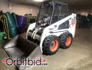 Orbitbid com® | Bobcat, model S130, skid steer with