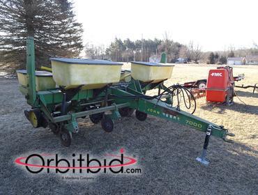 Orbitbid Com 1 John Deere 7000 Conservation Towable Corn