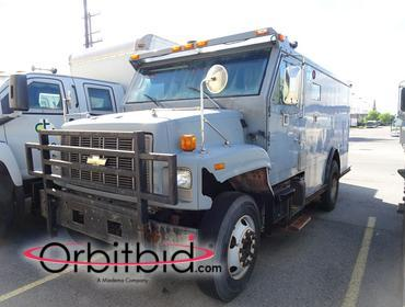 1999 Chevy Armored Truck