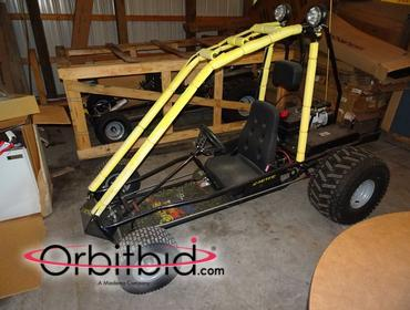 Orbitbid com® | (1) new Carter Trail Buster go-cart with 8
