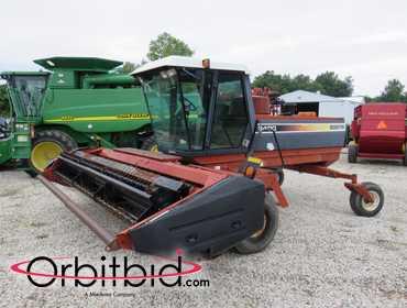 Orbitbid com® | 1996 Hesston 8400 self-propelled windrower