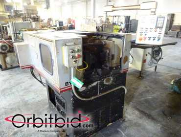 "(1) Reed Rico model B105 1-1/2"" Thread Rolling Machine, SN: B105-2172 single and continous cycle,..."