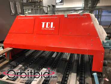 "Apple Packing Line Including: 6-Line Sorting Conveyor 65"" x 67' and TCI Ag Vision Systems Color..."