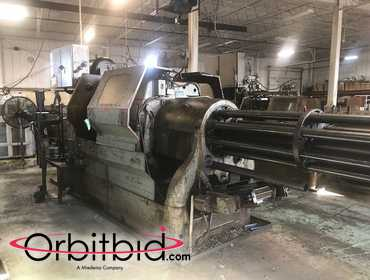 "(1) Acme Gridley model RB8, 2 5/8"" Automatic Screw Machine, SN: 96156(x), stock reel and stand,..."