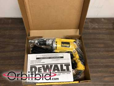 (1) NEW DeWalt, model DW272, dry wall screw gun in original packaging, package only opened for...