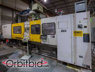 (1) Toshiba, model ISGS390, injection molding machine, S/N 097412, manufactured in 2002,...