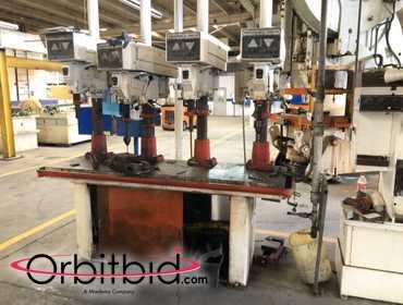 Orbitbid com® | (1) multi press drilling machine with 4 Rockwell