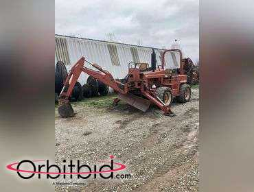 Orbitbid com® | (1) 2001 Ditch Witch 8020 Vibratory cable plow with