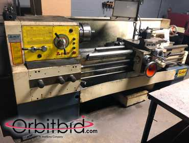 "(1) Lion, model C11MT, engine lathe with approx. 24"" swing, tool holder, 84"" bed, 10"" 3-jaw chuck..."