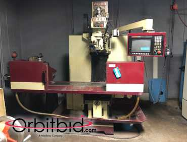 (1) Acer, model E-1350B, CNC bed mill (manufactured in 2001), S/N 11030232, with Anilam, model...