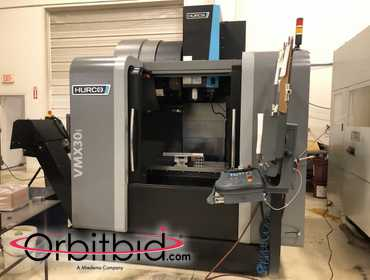(1) 2015 Hurco, model VMX30i, vertical machining center, S/N M343-1600825GFDCH, with Hurco...