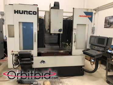 (1) Hurco, model MK-60IIE, vertical machining center, S/N 360F063, with a Ultimax control unit...