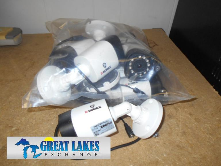 Great Lakes Exchange Lot Of 7 Lorex 720p Hd Ir Pc