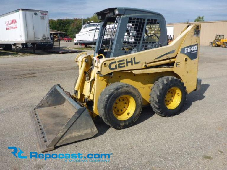 Repocast com®   2008 Gehl 5640 E Turbo Skidsteer