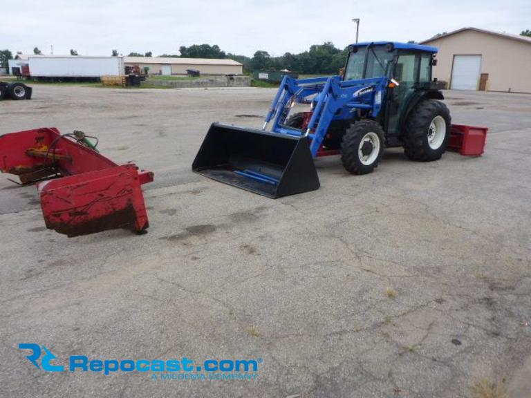Repocast com® | 2004 New Holland TN75 DA Tractor with New