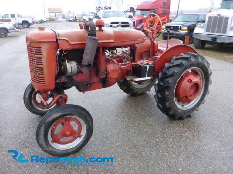 1945 Farmall Model A Tractor, S/N Faa113888, IH 1.9 Liter 4 Cyl Gas Engine, 4 Speed with Reverse,...