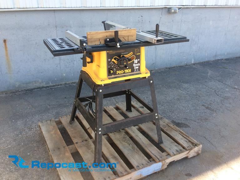 Awesome Repocast Com Pro Tech 10 Bench Saw Model 4106 Machost Co Dining Chair Design Ideas Machostcouk