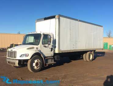 Repocast com® | 2007 Freightliner M2 Box Truck 1FVACWDC07HX45575