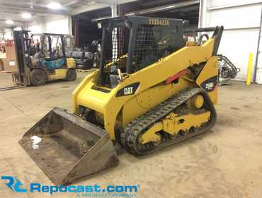 Repocast com®   2013 Caterpillar 259B3 Compact Track Skid