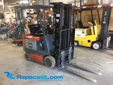 Repocast com® | Toyota 5FBCU15 Electric Forklift