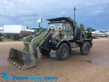 Repocast com® | 1987 (2005 Army Rebuild) Freightliner Unimog