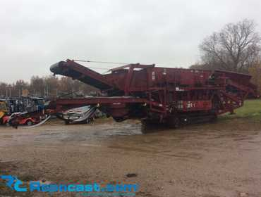 2005 JCI FT5162M Mobile Screen Plant