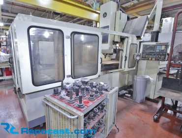 "Kitamura Bridge Center 8 CNC Bridgemill, 34"" x 118"" Table Serial # 40320 Year 1991 Table  Work..."