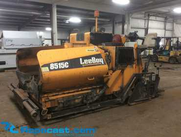 *NO LONGER AVAILABLE FOR BIDDING* 2015 LeeBoy 8515C Paver