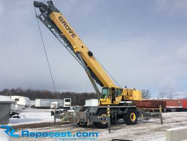 2006 Grove RT600E Rough Terrain Crane