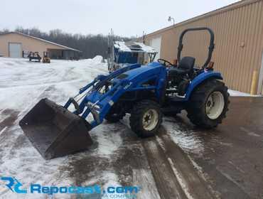 Repocast com® | New Holland TC45D Compact Utility Tractor 4WD