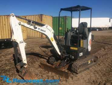 Repocast com® | 2015 Bobcat E20 Mini Excavator