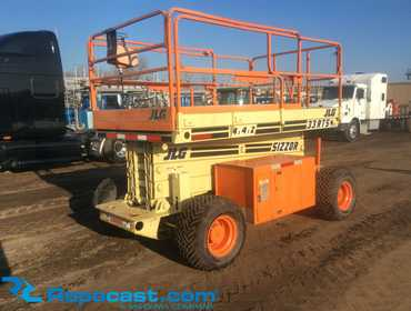 Repocast com® | 1999 JLG Rough Terrain Scissors Lift 33- RTS