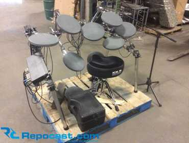 Repocast com® | Drum Tech electronic drum set with Drum Tech
