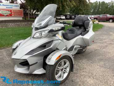 2010 Can Am Spyder Motorcycle